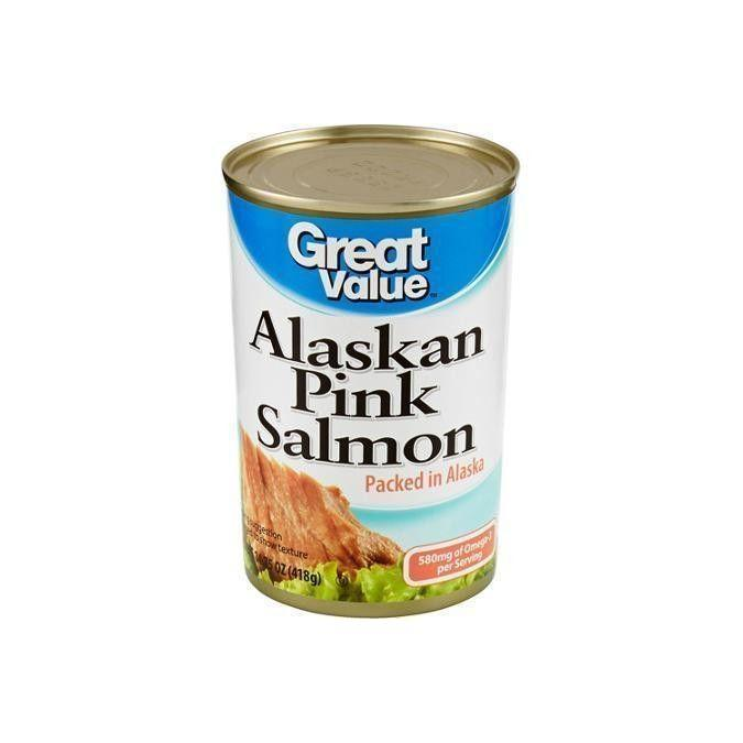 Great Value Salmon CANNED 14.75 oz