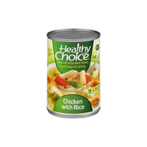 Healthy Choice Soup Chicken with Rice 15 oz. can