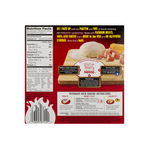 Hot Pockets Stuffed Sandwiches Ham & Cheese 4.5 oz. 1 Pocket