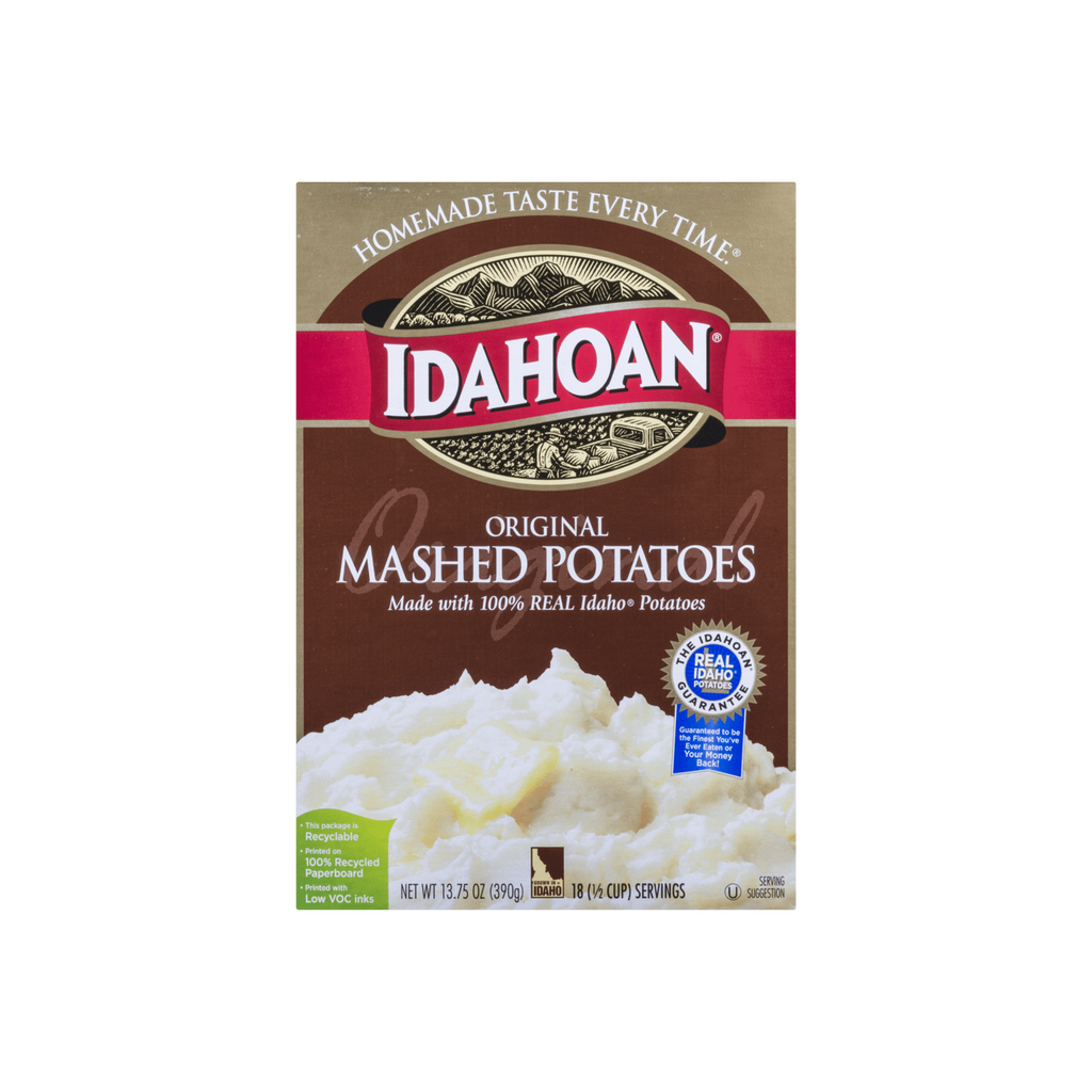 Idahoan Original Mashed Potatoes 13.75 oz