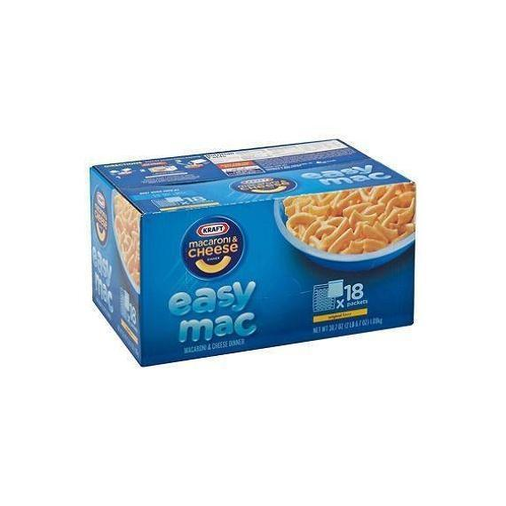 Kraft Easy Mac Original Flavor Macaroni & Cheese Dinner
