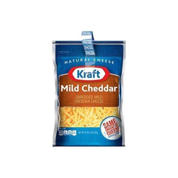 Kraft Mild Cheddar Shredded Cheese (16 oz.)