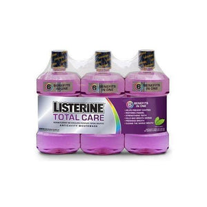 Listerine Total Care Mouthwash - Fresh Mint