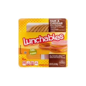 Lunchables Lunch Combinations Ham Cheddar 3.4 oz.