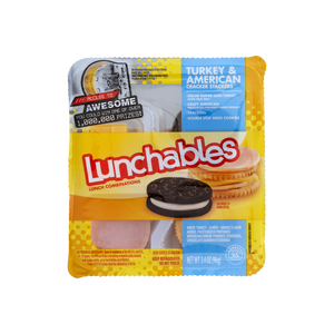 Lunchables Lunch Combinations Turkey American Cheese 3.4 oz
