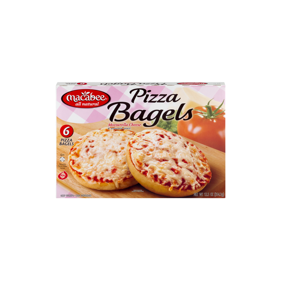 Macabee Kosher Pizza Bagels