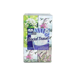 Member's Mark 3-Ply Facial Tissue 80ct. per box