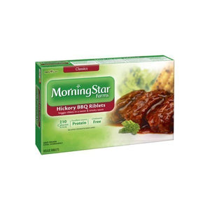 MorningStar Farms Hickory BBQ Veggie Riblets, 10 oz