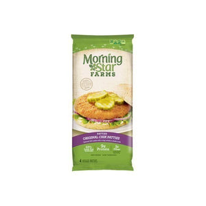 MorningStar Farms Original Chik Patties Veggie Patties, 4 count, 10 oz