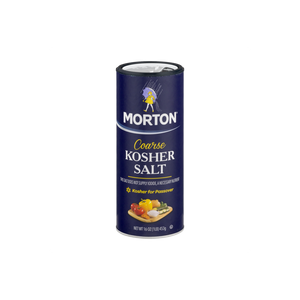Morton Coarse Kosher Salt, 16 oz