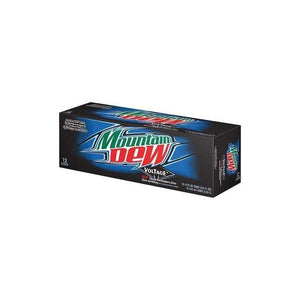 Mountain Dew Voltage Soda 12 oz. can