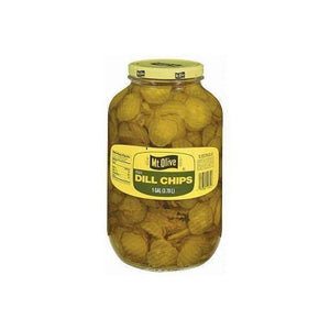 Mt. Olive Thin Dill Chips 1 gallon jar
