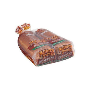 Nature's Own 100% Whole Wheat Bread 20 oz. 1 LOAF