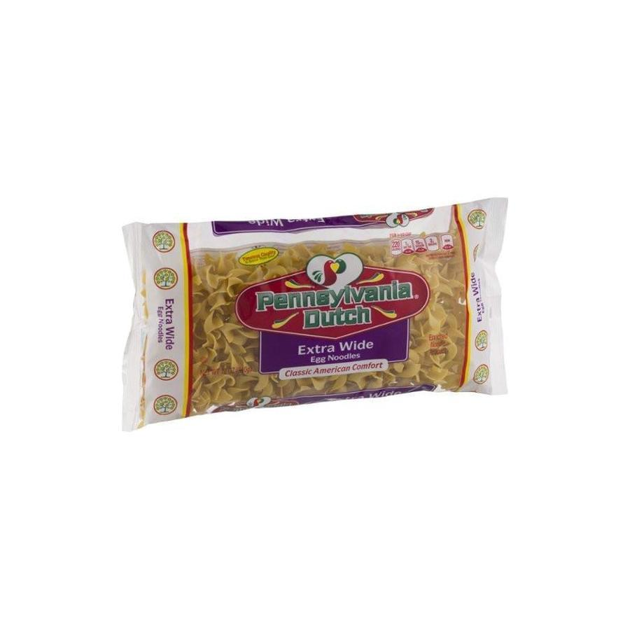 Pennsylvania Dutch Egg Noodles Extra Wide 12 Oz. Bag