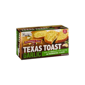Pepperidge Farm Texas Toast Garlic Frozen - 8 ct