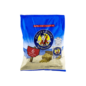 Pirate's Booty Aged White Cheddar Puffs - .5 oz. BAGS