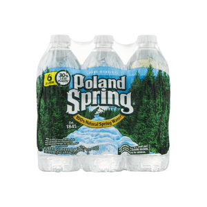 Poland Spring Natural Spring Water 16.9 fl. oz