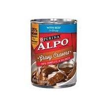 Purina Alpo Gravy Cravers Wet Dog Food With Beef in Gravy 13.2 oz. Can