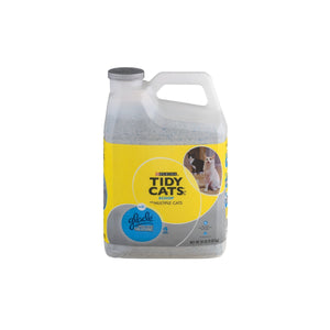 Purina Tidy Cats Clumping Cat Litter with Glade Tough Odor Solutions For Multiple Cats 14 lb. Jug