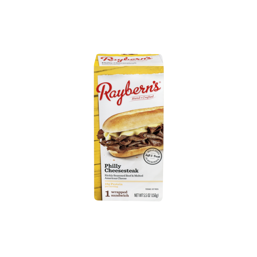Raybern's Philly Cheesesteak Sandwich (1 ct.)