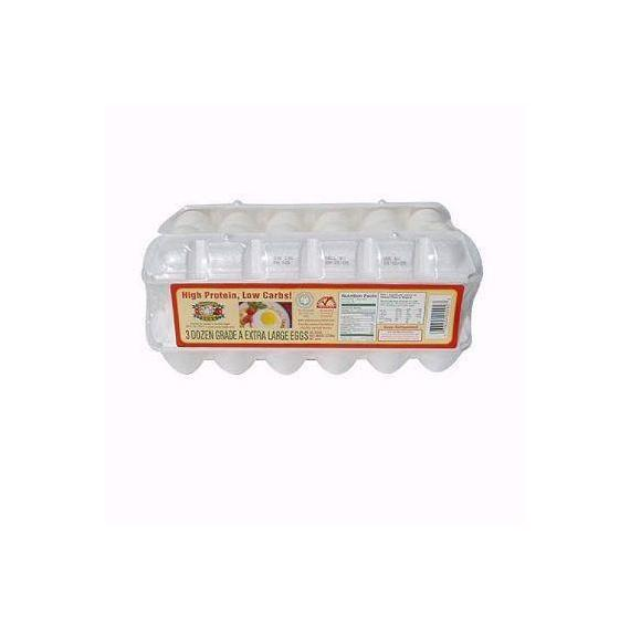 Sauder's White Large Eggs - 18 COUNT