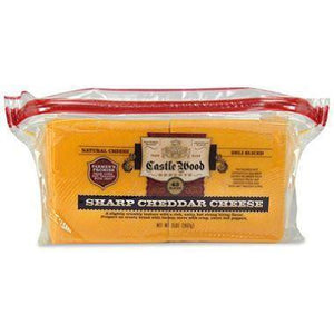 SLICED CHEDDAR CHEESE 2 LB