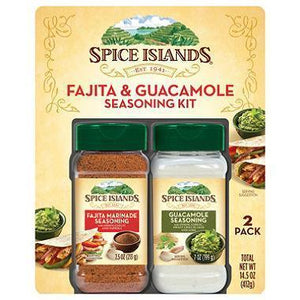 Spice Islands Fajita Marinade & Guacamole Seasoning (1 pk.)