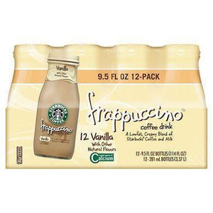 Starbucks Frappuccino Coffee Drink, Vanilla 9.5 oz. bottle