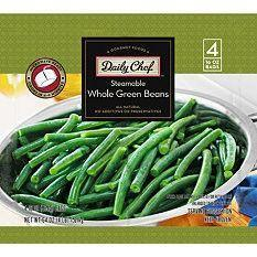 Steamable Whole Green Beans - 16 oz. bag