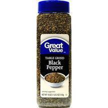 Table Grind Black Pepper Seasoning 18 oz