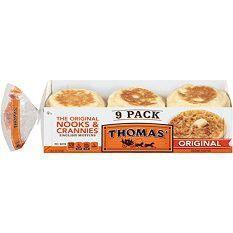 Thomas English Muffins 9 COUNT