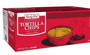 Daily Chef Restaurant Style Round Corn Tortilla Chips (48 oz.)