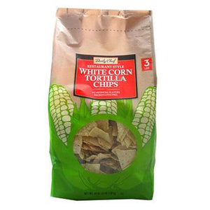 Daily Chef Restaurant Style White Corn Tortilla Chips (48 oz.)
