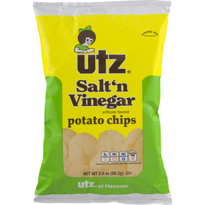 Utz Salt 'n Vinegar Chips Bags 1 OZ BAGS
