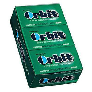 Wrigley's Orbit Spearmint - 14 pc