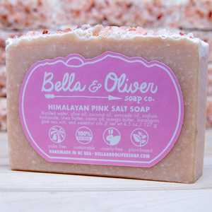Himalayan Pink Salt Soap