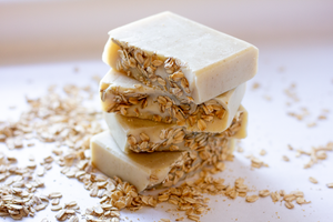 Oatmeal Soap - Fragrance Free Soap — Bella & Oliver Soap Co. // Natural Soap Handmade Colloidal Oatmeal