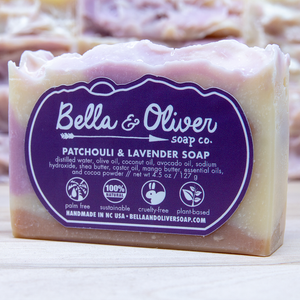 Patchouli & Lavender Soap