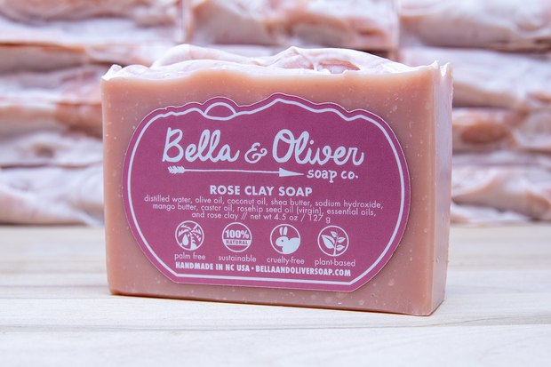 Rose Clay Soap 1