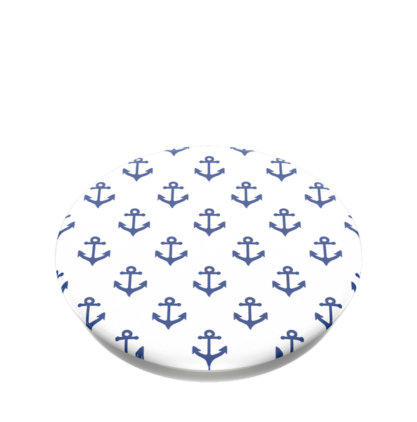 NYHET 🔄 PopSockets - Anchors Away White POPGRIP