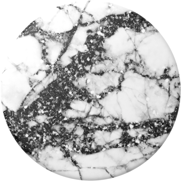 NYHET 🔄 PopSockets - Black Sparkle Marble SWAPTOP