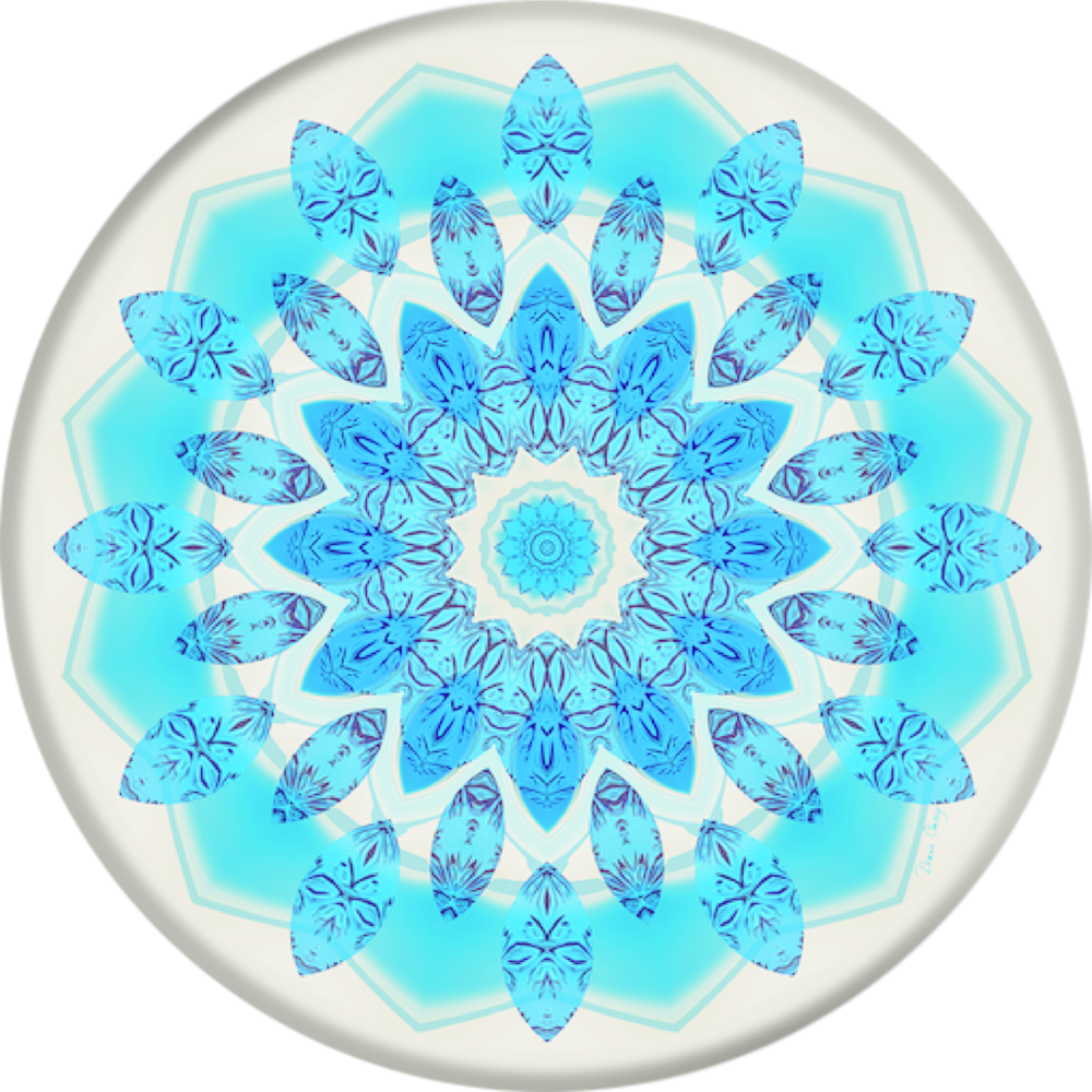 PopSockets Blue Ice Star