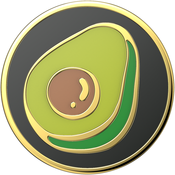 NYHET 🔄 PopSockets - Enamel Guac My World POPGRIP