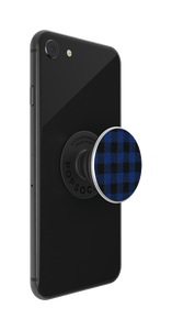 NYHET 🔄 PopSockets - Classic Check Blue POPGRIP