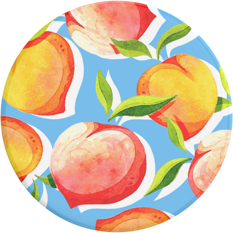 NYHET 🔄 PopSockets - Just Peachy Gloss POPGRIP