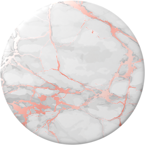 NYHET 🔄 PopSockets - Rose Gold Lutz Marble POPGRIP