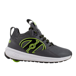 Heelys Bandit Charcoal Black Bright Yellow