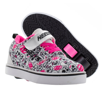 Pro 20 X2 - White/Black/Hot Pink Skulls