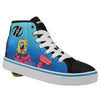 Hustle - Spongebob - Black/White/Mulit (MENS)
