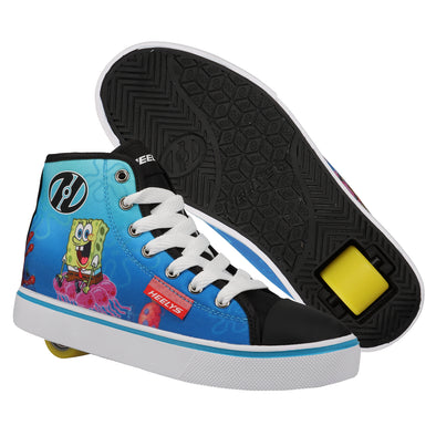 Hustle - Spongebob - Black/White/Multi